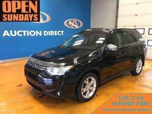 2014 Mitsubishi Outlander GT! PANO ROOF! LEATHER! 7 PASS!