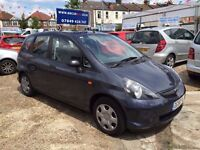 2008 HONDA JAZZ 1.2 PETROL, 5 DOOR, 35000 GENUINE LOW MILES, 2 KEYS, HPI CLEAR, FINANCE AVAILABLE