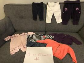 Baby girl clothes. 3-6 months bundle 2