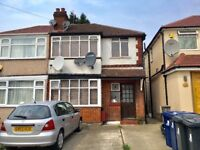 1 BEDROOM MAISONETTE FURNISHED,INCLUDES ALL BILLS, 15 MINS WALK TO SUDBURY HILL TUBE STATION TO LET