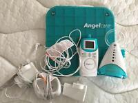 Angelcare motion baby monitor system