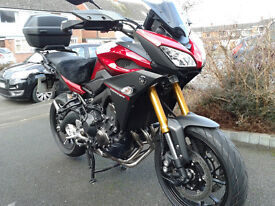 Yamaha MT 09 Tracer. Excellent condition. Dry use only with 4400 miles. Yamaha Service history.