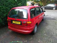 VW SHARAN full MOT
