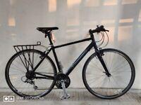 SERVICED (4558) 700c PINNACLE BOREALIS 1.0 Aluminium HYBRID BIKE BICYCLE Size M, Height: 180-195 cm
