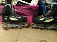 Roller derby Trac 5000 inline skates