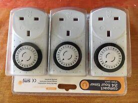 Plug In Timers - Triple Set Pack