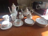 Vintage Portuguese Tea and Coffee Set
