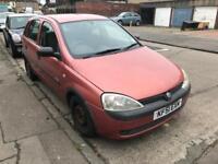 Vauxhall corsa 1.0 2001 **SWAPS**