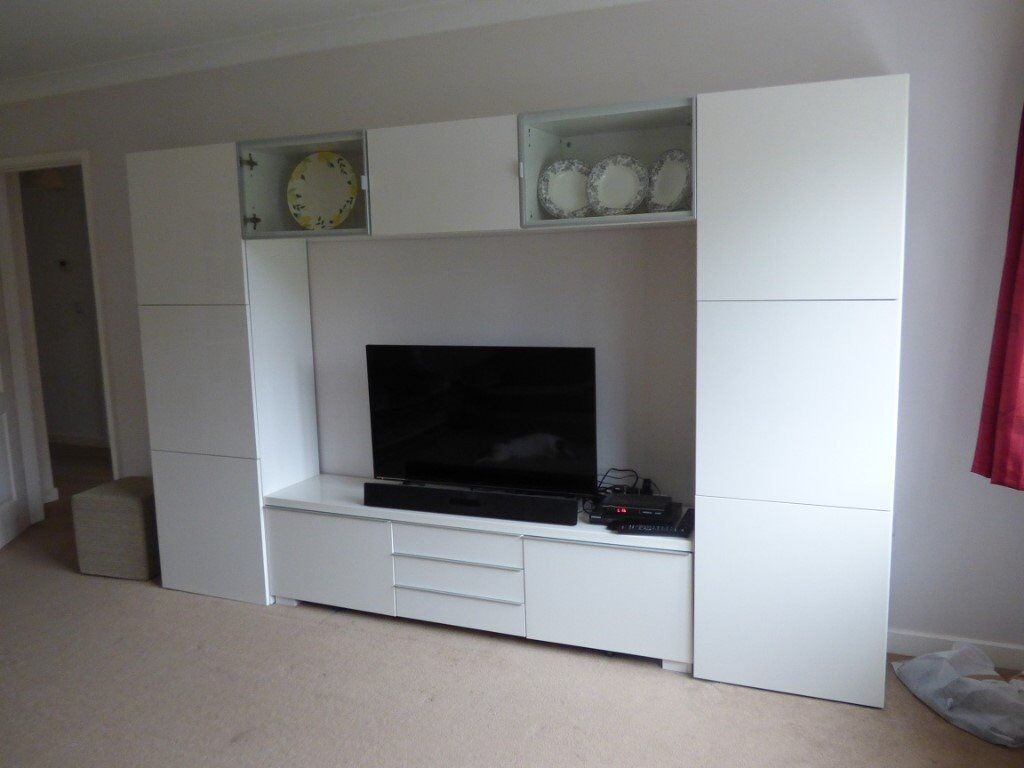 Ikea Besta storage/display unit
