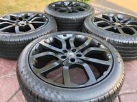 "20"" Range Rover Evoque Refurbished Alloy Wheels & Tyres Freelander 2 5x108"