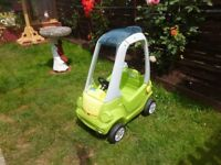 childs coupe car in good clean condition