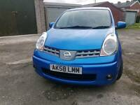 Nissan Note 2008 1.4 Acenta 5 Door