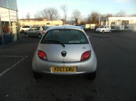 2007 57 FORD KA 1.3 STYLE CLOTH 3D 69 BHP **** GUARANTEED FINANCE **** PART EX WELCOME
