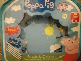Peppa pig jumbo puzzle