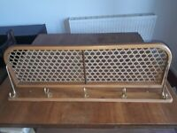 Hat and coat Shelf good condition