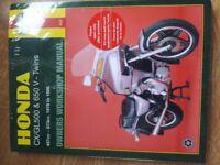 Honda cx/gl500 & 650 manual