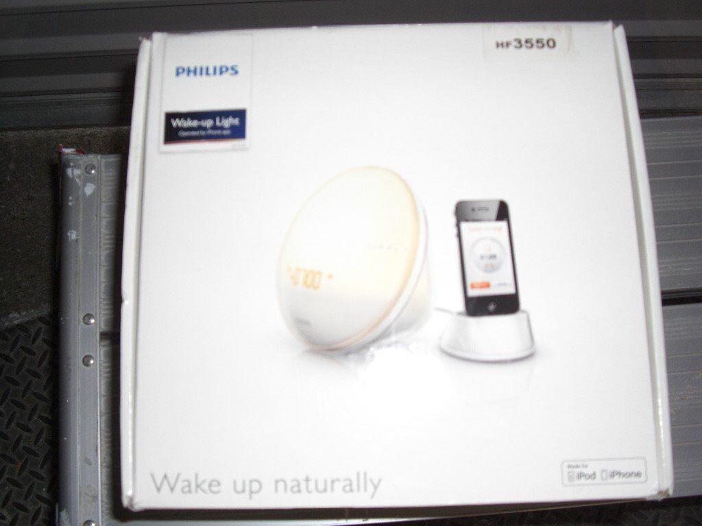Philips Wake-Up Light HF 3550