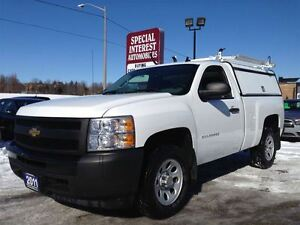2011 Chevrolet Silverado 1500 WT !! LOW KMS !! LEER WORK HORSE C
