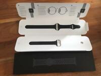 Genuine Black Nike Apple Watch Strap For 38mm Watch