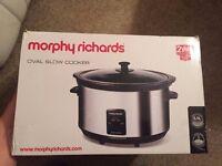 Oval slow cooker - Morphy Richards 6.5 L