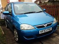 Vauxhall corsa mot April £750