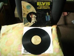 vinyl double album elvis aloha from hawaii via satellite 33 tour