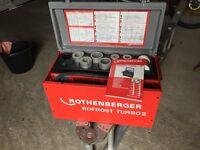 Rothenberger Rofrost Turbo 2 pipe freezing Machine .