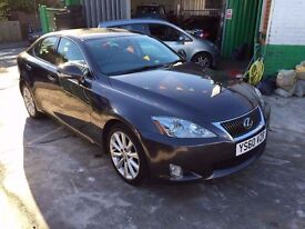 1 OWNER 2010 LEXUS IS250 SE-I AUTOMATIC FULL HISTORY HPI CLEAR FINANCE £500 DEPOSIT £175 X 48 MONTHS
