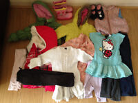 Girls clothes bundle 3-4 years, coats, dresses, bottoms etc. Mostly designer items.