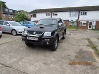 2005 Mitsubishi L200 Varrior 4x4 pick up for sale