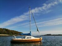 Hunter Europa 19 Sailing Boat
