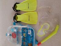 Childs snorkel set