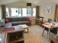 NEW luxury 2 bedroom static caravan including all 2017 site fees in west Wales