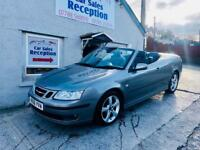 SAAB 9-3 CONVERTIBLE 1.8.T FSH ONLY 65K MILES £2595!!