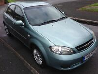 2007 07reg Lacetti 1.6 SX 46,300 miles FSH 5 Door MOT Alloys AC CD HPiClear £1295 Top Value Motoring