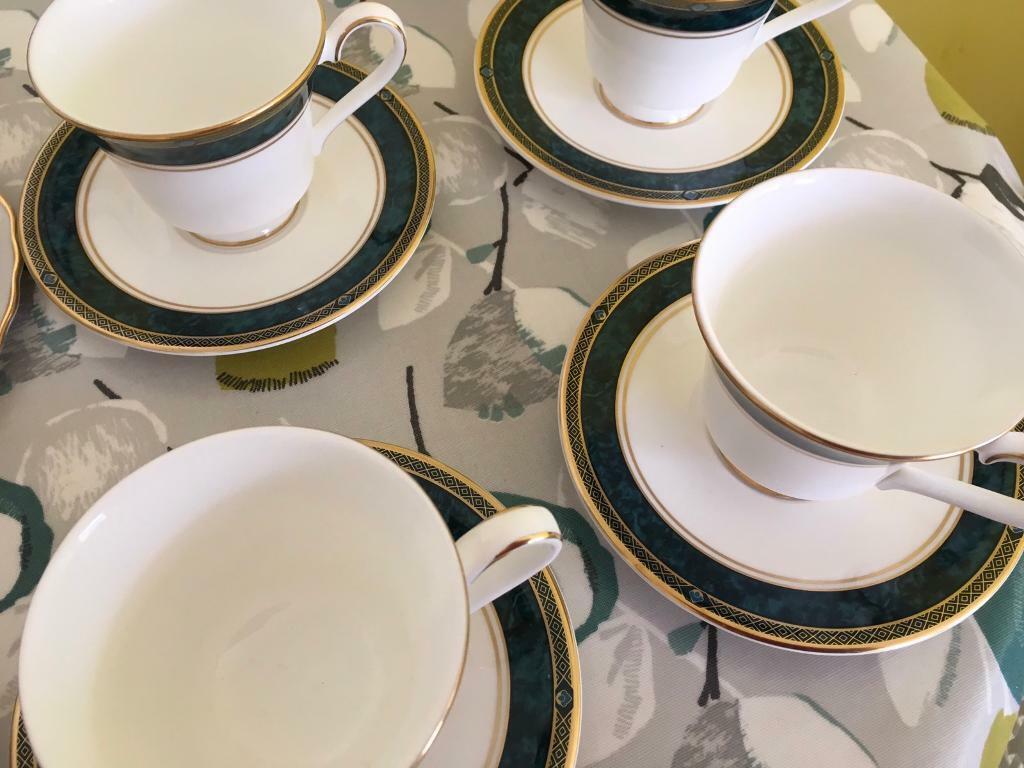 4 bone china cups and saucers English bone china  | in Llanedeyrn, Cardiff  | Gumtree