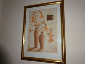 Two Large Wall Hanging Pictures
