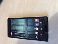 Used Sony Xperia z2 16gb - Black - Unlocked