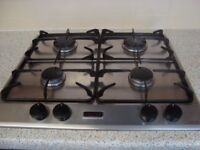 STOVES BUILT IN GAS HOB MODEL NUMBER 600GR GOOD USED CONDITION 600 x 600