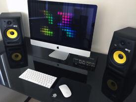 KRK, Rokit 6, Studio Monitors with Focusrite, Saffire 6, USB, Audio Interface.