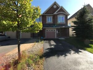 End unit townhouse for sale in Barrhaven