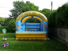 20ft x 20ft bouncy castle