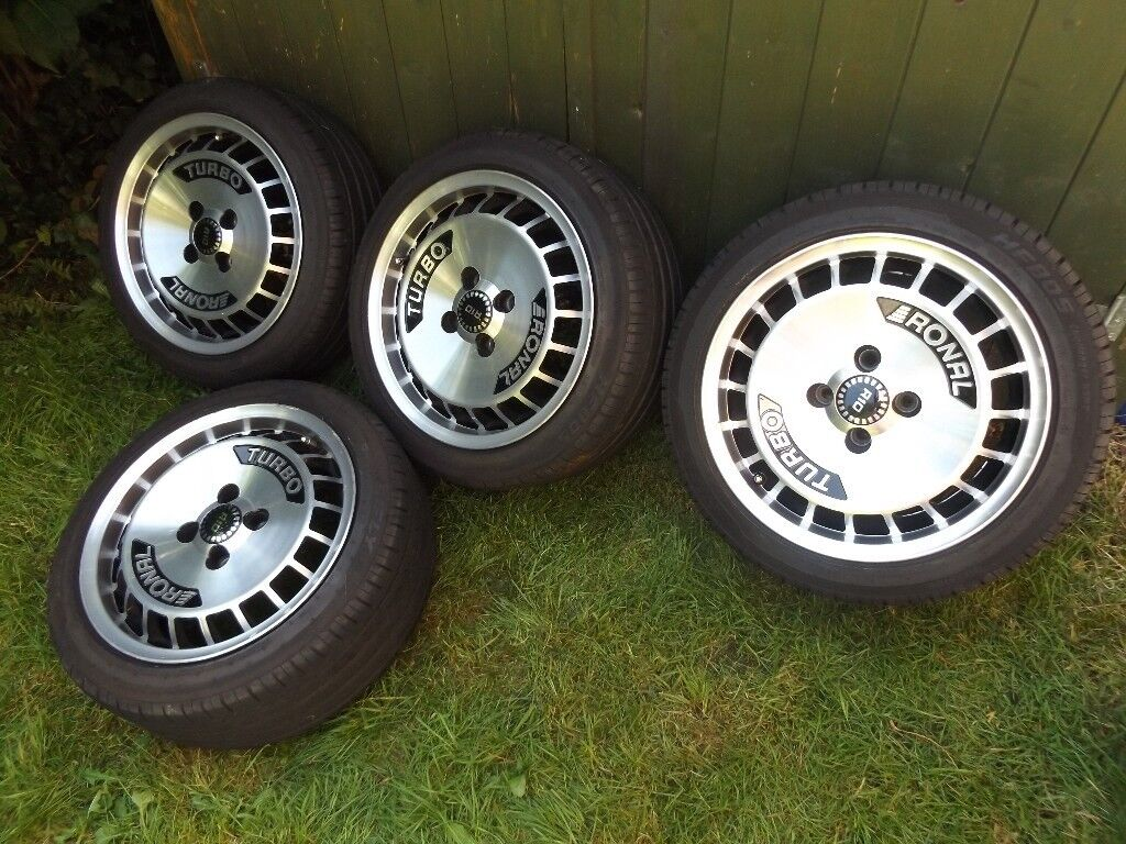 ronal r10 turbo turbos alloy wheels 15 in 4x100 pcd vw. Black Bedroom Furniture Sets. Home Design Ideas