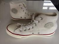 Converse trainers all star boots as new size 4