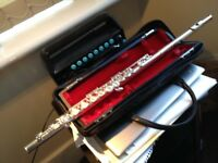 Pearl PF-501 Flute with Solid Silver Pearl headjoint