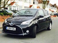 Toyota Yaris 1.5 Hybrid Design CVT 5dr (TSS, nav) 2014 (64 reg), Hatchback