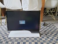 Samsung S24B750HS 24 inch Widescreen LED Monitor - Gloss White (1920 x 1080 Full HD, 2ms, HDMI/VGA