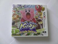 KIRBY TRIPLE DELUXE FOR THE 3DS / MINT & COMPLETE.