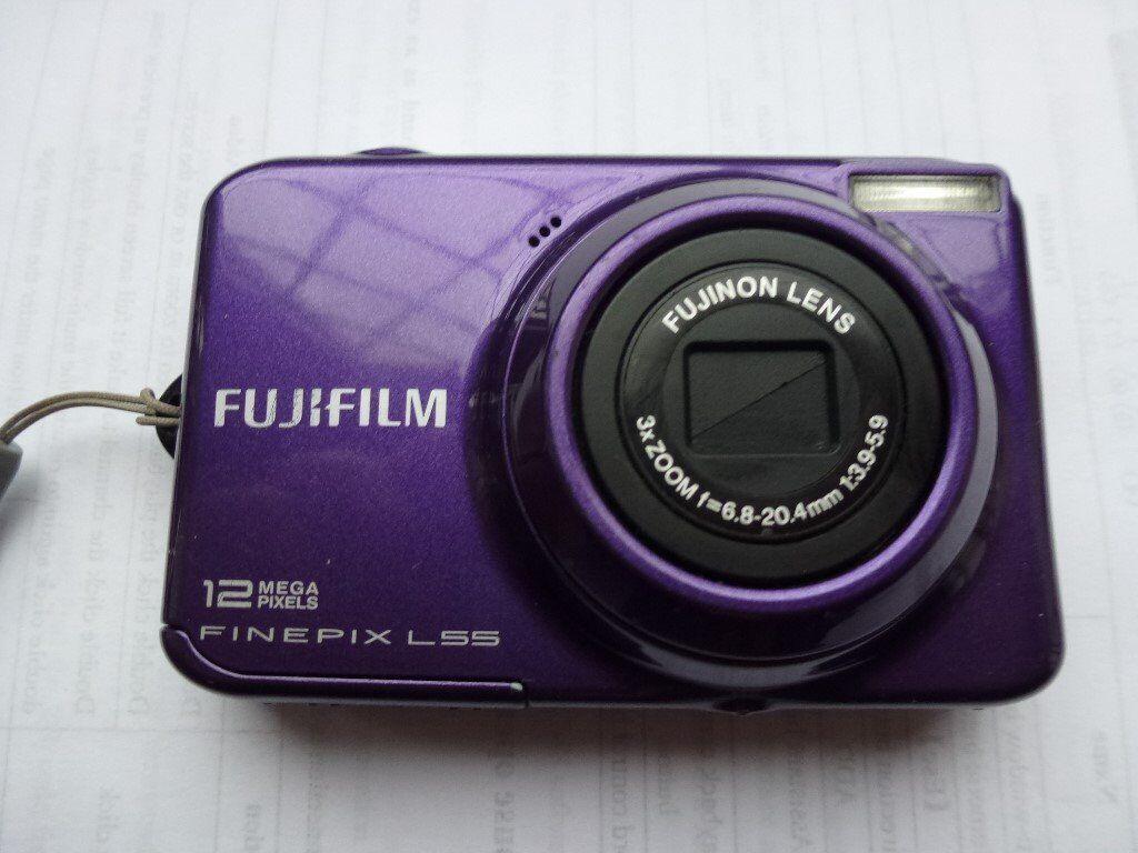 FUJI FINEPIX L55 12mp digital camera