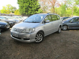 TOYOTA AVENSIS VERSO DIESEL FACELIFT 7 SEATS SERVICE HISTORY MOT FEB 18 EXCELLENT ENGINE AND GEARBOX